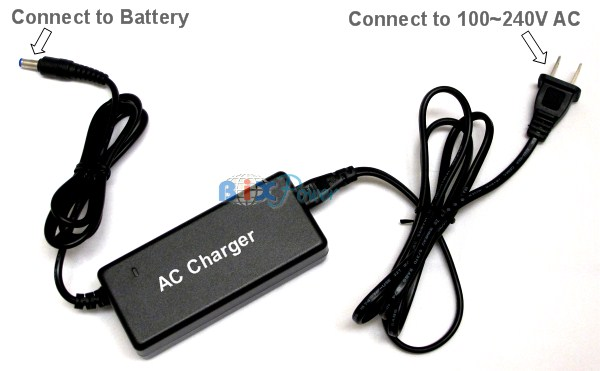 Ac Charger For 10 8v And 11 1v Lithium Ion Batteries
