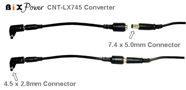bixpower lx745 connector converter