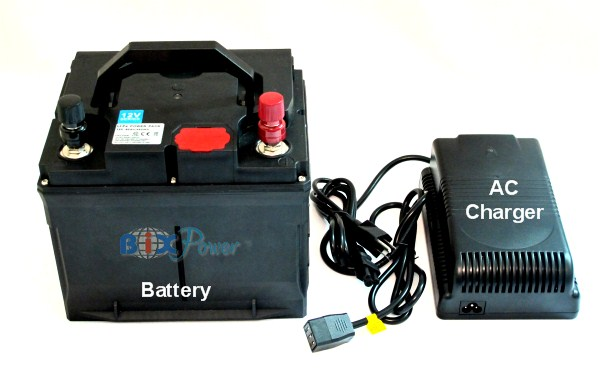 12v 40ah lifepo4 lithium battery pack with ac charger. Black Bedroom Furniture Sets. Home Design Ideas