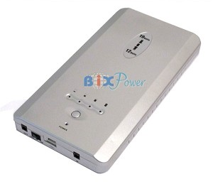 BiXPower BP160 - 159 Watt-hour  12V & 19V  Rechargeable Lithium Ion Battery Power Bank Pack