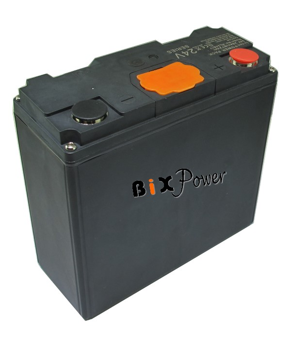 24V 24Ah ( 576Wh) Super High Power Lithium ion Battery - HL2417B