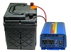 XP2500 AC Power Pack -1774 Watt-hour  Battery with 1000W 110V Pure Sine AC Inverter