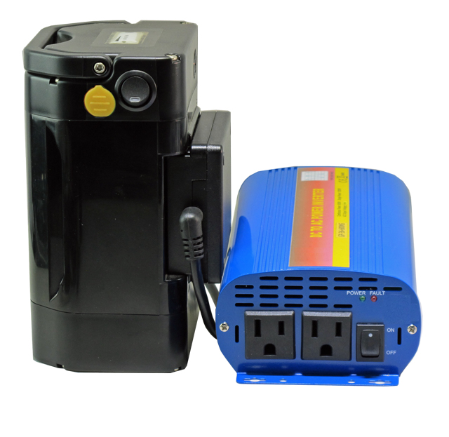 110V Portable  AC Power Station XP460 - Super High Capacity Battery with 600W Pure Sine Wave 110V AC Inverter
